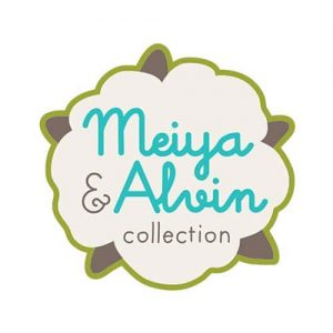 Meiya & Alvin logo - Little Rabbit
