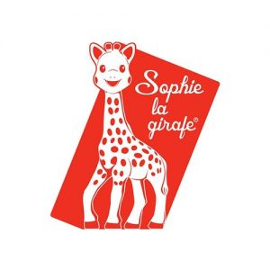 Sophie la girafe logo - Little Rabbit