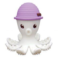 3D hryzátko chobotnica - Fialová 1