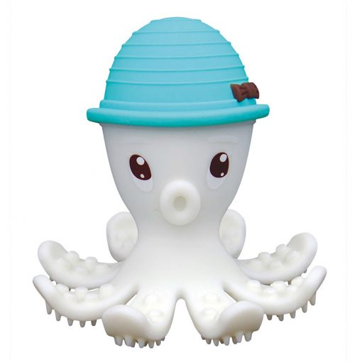 3D hryzátko chobotnica - Modrá 1