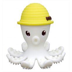 3D hryzátko chobotnica - Žltá 1