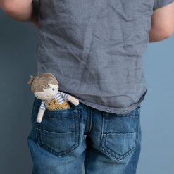 Bábika Jim 10 cm 7