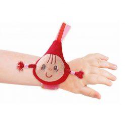 Červená čiapočka - Hrkálka na zápästie 3