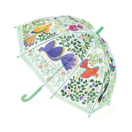 Dáždnik - Kvety a vtáčiky 1
