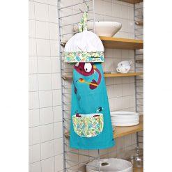 Detská zástera a kuchárska čiapka Georges 2