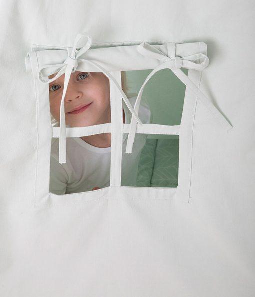 Detský stan Teepee - mint 12
