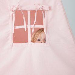 Detský stan Teepee - ružová 12