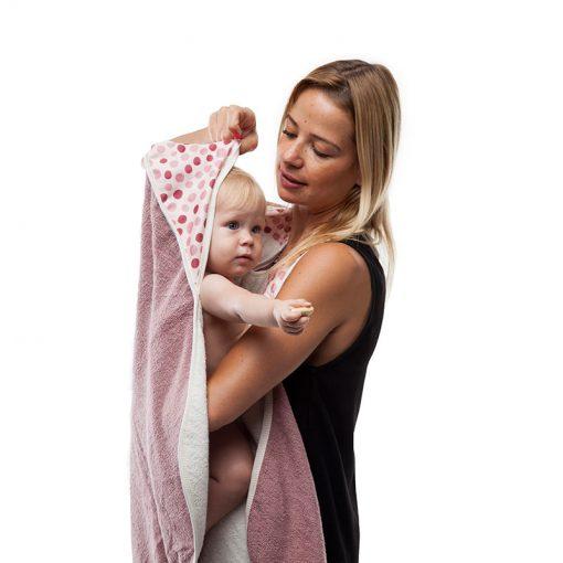 Detský uterák - Ružový 2
