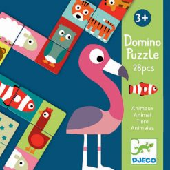 Domino puzzle Zvieratká 1