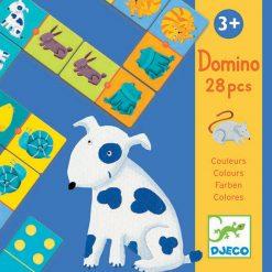 Domino Zvieratá a farby 1