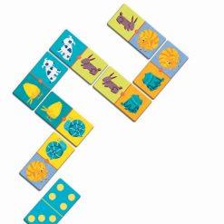 Domino Zvieratá a farby 2