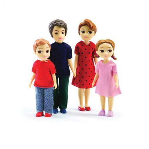 Doplnky k domu pre bábiky Tomas & Marion (rodinka) 1