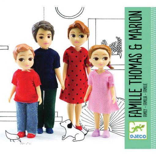 Doplnky k domu pre bábiky Tomas & Marion (rodinka) 2
