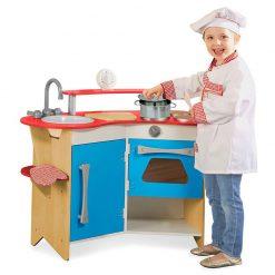Drevená kuchynka 2
