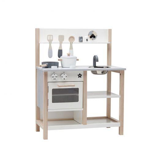 Drevená kuchynka - Natural White Bistro 1