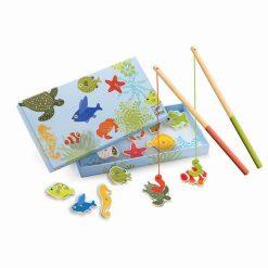 Drevená magnetická hra - Tropické rybky 1