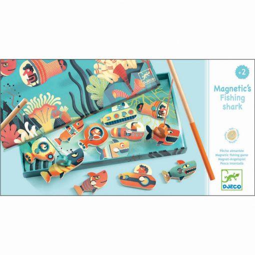 Drevená magnetická hra Žraloky 1