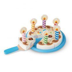 Drevená narodeninová torta 1