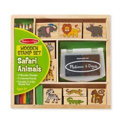 Drevená pečiatková sada - Safari 1