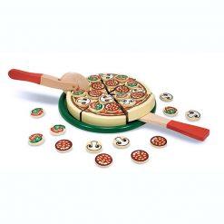 Drevená pizzová sada 1