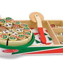 Drevená pizzová sada 2