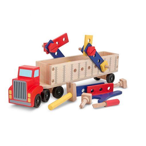 Drevená sada - Pracovný kamión 1