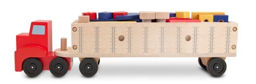 Drevená sada - Pracovný kamión 2