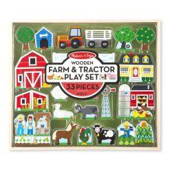 Drevená zostava - Farma a traktor 1