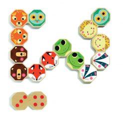 Drevené domino Octo domino 2