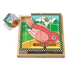 Drevené kocky - Domáce zvieratká 2
