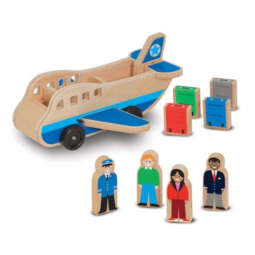 Drevené lietadlo 1