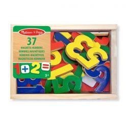 Drevené magnetky - Čísla 1