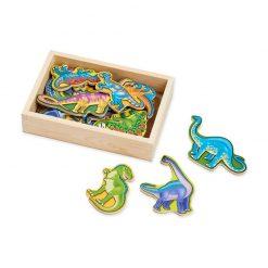 Drevené magnetky - Dinosaury 1