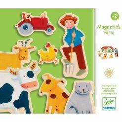 Drevené magnetky Farma 1