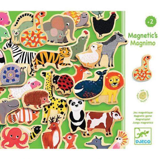 Drevené magnetky - Magnimo 1