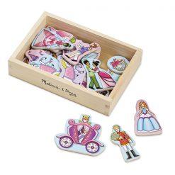 Drevené magnetky - Princezná 1