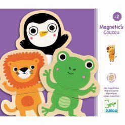 Drevené magnetky Zvieratká 1