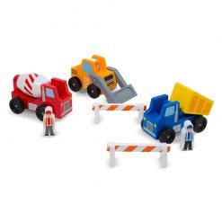Drevené stavebné vozidlá 1