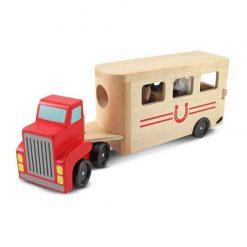Drevené vozidlo na prepravu koní 2