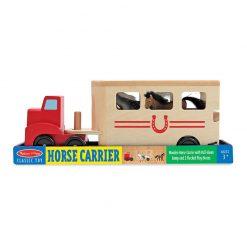 Drevené vozidlo na prepravu koní 4