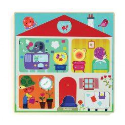 Drevené vzdelávacie puzzle - Swapy 1