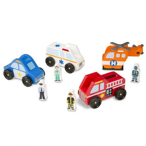 Drevené záchranné vozidlá 1