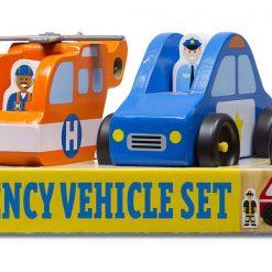 Drevené záchranné vozidlá 2