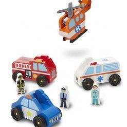 Drevené záchranné vozidlá 4