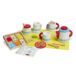Drevený čajový set 1