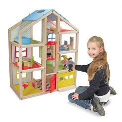 Drevený domček so zariadením 5