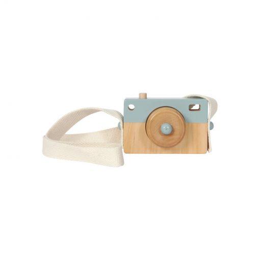 Drevený fotoaparát - mint 1