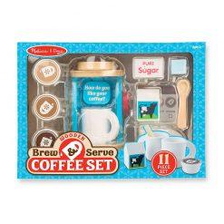 Drevený kávový set 3