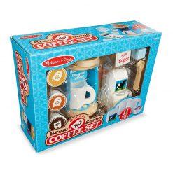 Drevený kávový set 4
