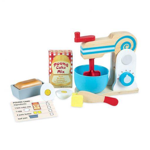 Drevený mixer set 1